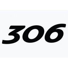 Peugeot 306 Vinyl Sticker