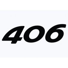 Peugeot 406 Vinyl Sticker