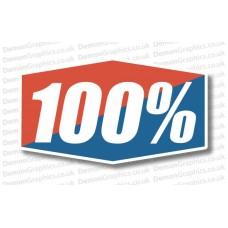 Bike Decal (Pair of) 100%