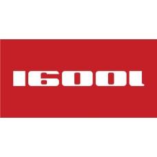 Old Skool Classic Sticker: 1600 i (Pair)