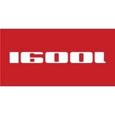 Old Skool Classic Vinyl Sticker: 1600i