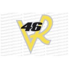 Bike Decal (Pair of) 46 VR
