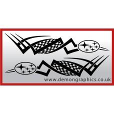 logo tribal : subaru £19.99 both sides