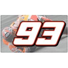 Racing Numbers Marc Márquez