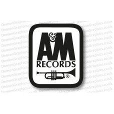 A&M Records Sticker