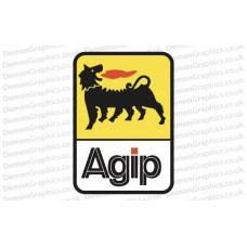 Bike Decal (Pair of) Agip 1