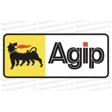 Bike Decal (Pair of) Agip 2