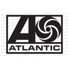 Atlantic Records 2 Sticker