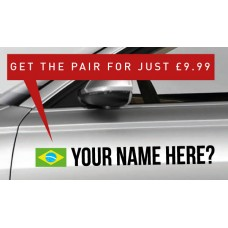 Brazil Rally Tag £9.99 for both sides