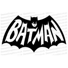 Batman Retro Sticker