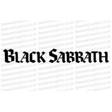 Black Sabbath 1 Sticker