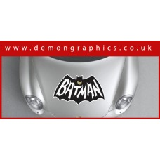 Bonnet Sticker - Batman Retro