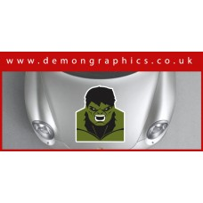 Bonnet Sticker - Hulk