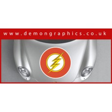 Bonnet Sticker - The Flash