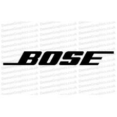 Bike Decal (Pair of) Bose
