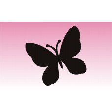 Butterfly 1 Girly Sticker