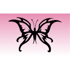 Butterfly 6 Girly Sticker