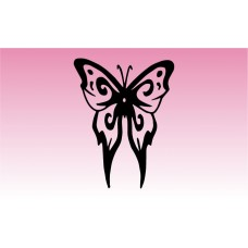 Butterfly 8 Girly Sticker