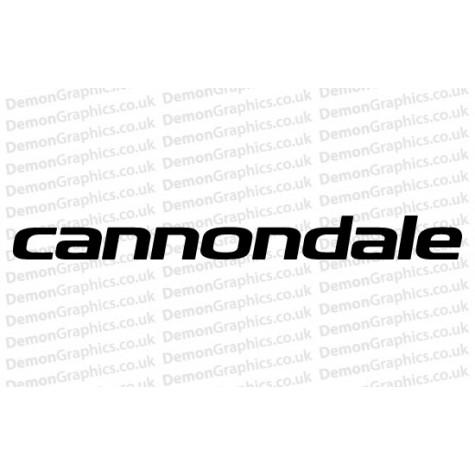 Cannondale Vinyl Sticker