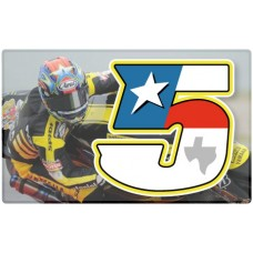 Racing Numbers Colin Edwards
