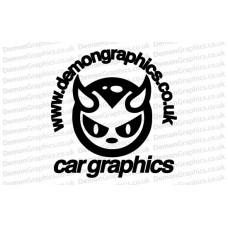 Demon Graphics Sticker 2