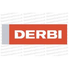 Bike Decal (Pair of) Derbi