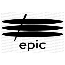 Epic Records 2 Sticker
