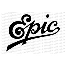 Epic Records 1 Sticker