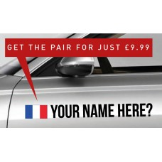 France Rally Tag £9.99 for both sides