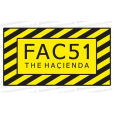 FAC 51 The Hacienda Sticker