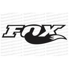 Bike Decal (Pair of) Fox 2