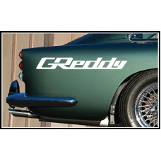 GReddy Vinyl Sticker