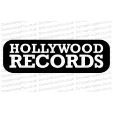 Hollywood Records Sticker