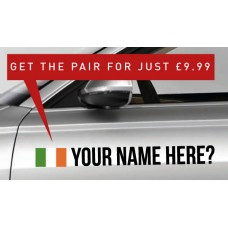 Ireland Rally Tag £9.99 for both sides