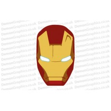 Bonnet Sticker - Iron Man