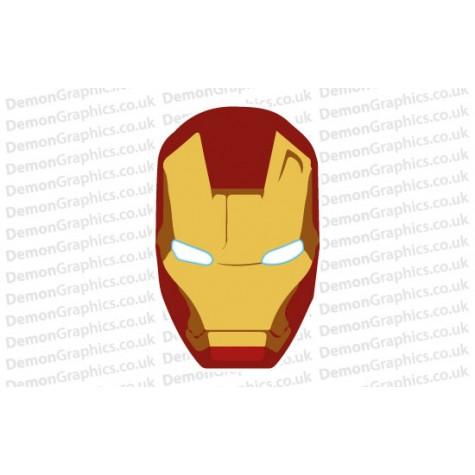 Bonnet Sticker - Iron Man