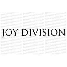 Joy Division Sticker