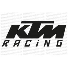 Bike Decal (Pair of) KTM 2