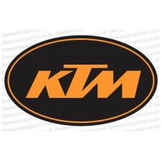 Bike Decal (Pair of) KTM 3