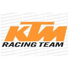 Bike Decal (Pair of) KTM 4