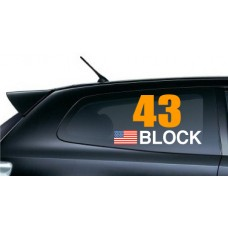 Block 43 Rally Name Tag