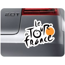 Le Tour De France Vinyl Sticker