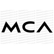 MCA Records Sticker