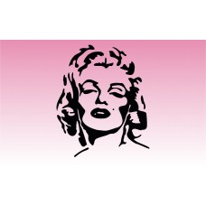 Marilyn Girly Sticker