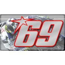 Racing Numbers Nicky Hayden