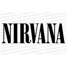 Nirvana 1 Sticker