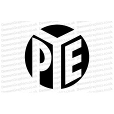 PYE Records Sticker