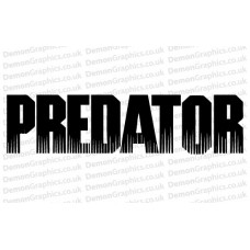 Predator Sticker