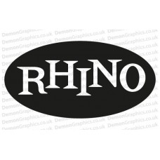 Rhino Records Sticker