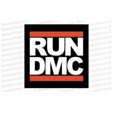 Run DMC Sticker